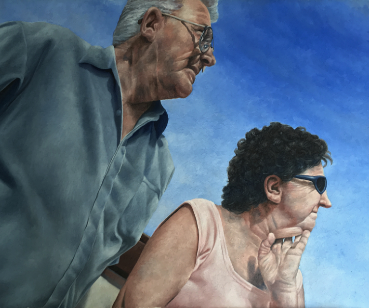 Portrait commissions paintings by mike shiels