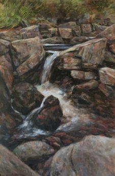 Mid Wales Waterfall