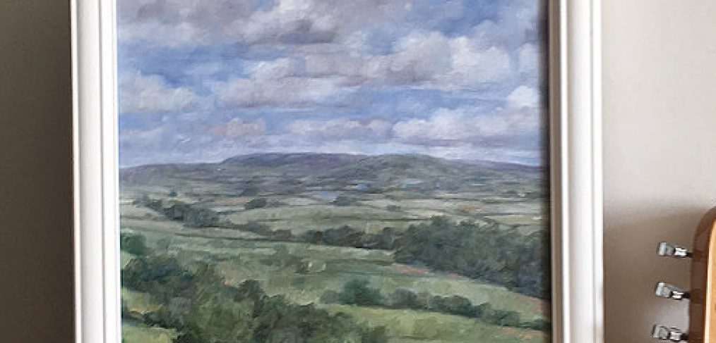radnorshire landscape painting