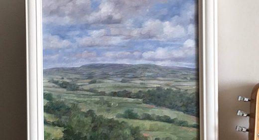 radnorshire landscape painting