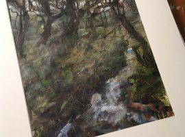 Mike Shiels landscape sketchbook